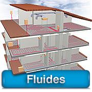 Fluides. Etudes Fluides et Second-Œuvre